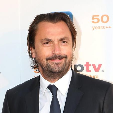 epa03654589 French tennis legend Henri Leconte arrives for the MIPTV 50th Anniversary Opening Gala at the Festival Palace in Cannes, France, 08 April 2013. The MIPTV which runs until 11 April is one of the world's leading international trade events dedicated to international television programs and to digital content and interactive entertainment for all platforms.  EPA/SEBASTIEN NOGIER